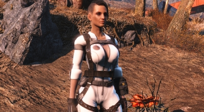 Fallout 4 — Откровенный комбинезон Синтов (CBBE) | Fallout 4 моды