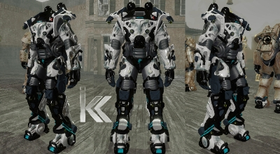 Fallout 4 — Каркас силовой брони «Раптор» | Fallout 4 моды