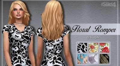 Sims 4 — Весеннее мини-платье | The Sims 4 моды