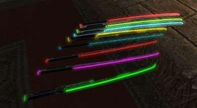 Skyrim — Светящиеся катаны | Skyrim моды