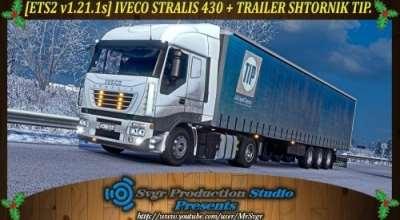 ETS 2 — Тягач Iveco Stralis 430 | ETS2 моды