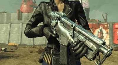 Fallout 4 — 10-мм пистолет-пулемет из Fallout 3/Fallout New Vegas | Fallout 4 моды