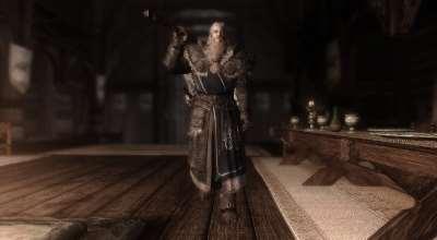 Skyrim сексуальная броня братьев бури