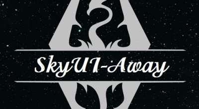 Skyrim — SkyUI away | Skyrim моды