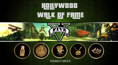 GTA 5 — Аллея звезд (Hollywood Walk of Fame) | GTA 5 моды