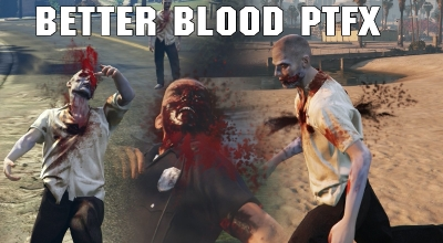 GTA 5 — Больше крови! | GTA 5 моды
