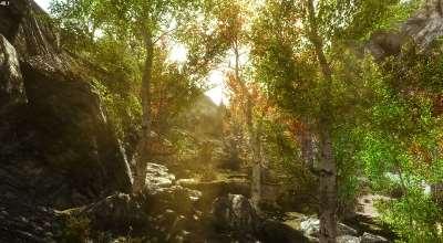 Skyrim — Фентези лес | Skyrim моды