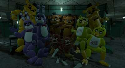 Garry's Mod 13 — Five Nights at Freddy's Animatronics