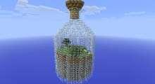 Minecraft — World in a Jar / Мир в бутылке | Minecraft моды