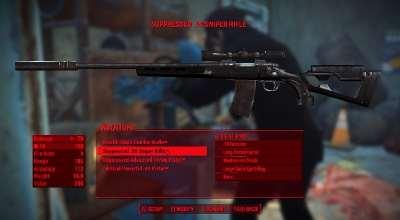 Fallout 4 — Черный ретекстур снайперской винтовки | Fallout 4 моды