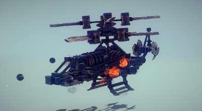 Besiege — Вертолет «Phantom» | Besiege моды