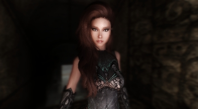 Skyrim — Спутница Амбер   Skyrim моды