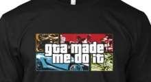 Футболки GTA V о насилии в видеоиграх и пиар Watch_Dogs