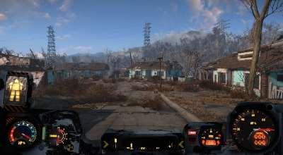Fallout 4 — Ретекстуры для интерфейса силовой брони (HUD) | Fallout 4 моды