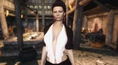 Skyrim — Сексуальная одежда 3 UNP-HDT