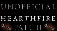 Skyrim — Неофициальный патч Hearthfire | Skyrim моды