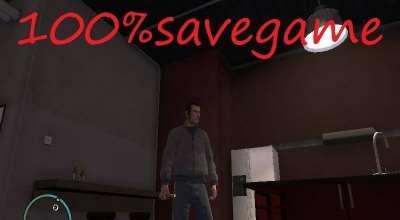 GTA 4 — сохранение (100% пройденная игра) | GTA 4 моды