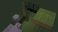 Minecraft — Пешеходные мостики для 1.7.10 | Minecraft моды