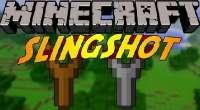 Minecraft — Новое оружие «Рогатка» для 1.7.10/1.7.2 | Minecraft моды