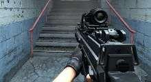 Counter Strike:Source — CZ805 (Aug) | Counter Strike:Source моды