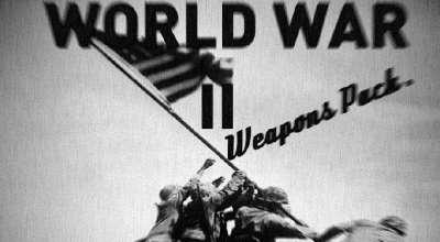 GTA 5 — Пак оружия Второй Мировой (WW2 Pack) | GTA 5 моды