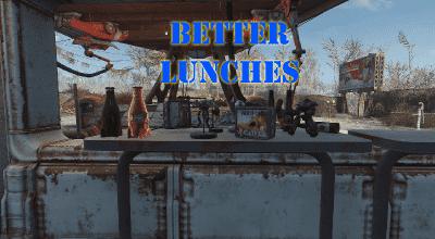 Fallout 4 — Улучшенный дроп с Ланчбоксов «Волт-Тек» | Fallout 4 моды