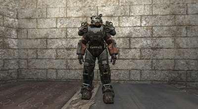 Fallout 4 — Новая анимация силовой брони | Fallout 4 моды