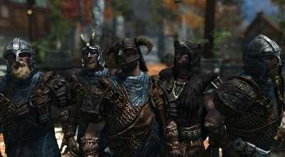 Skyrim — Изменение брони Братьев бури | Skyrim моды