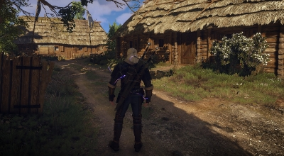 The Witcher 3 — Фиолетовый Квен | The Witcher 3 моды