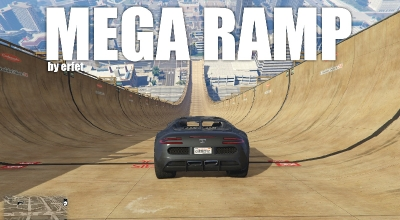 GTA 5 — Мега трамплин (Mega Ramp) | GTA 5 моды