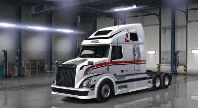 ATS — Новый тягач VOLVO VNL 670 | American Truck Simulator моды