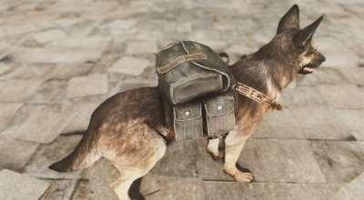 Fallout 4 — Рюкзак для пса | Fallout 4 моды