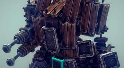 Besiege — Дредноут Mk.II (из Warhammer 40000) | Besiege моды