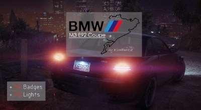 GTA 5 — BMW M3 E92 Coupe | GTA 5 моды