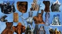 Skyrim — статуи / Stunning Statues of Skyrim