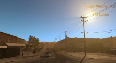 ATS — Новая погода | American Truck Simulator моды