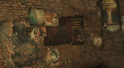 Fallout 4 — Ретекстур листовок и плакатов | Fallout 4 моды