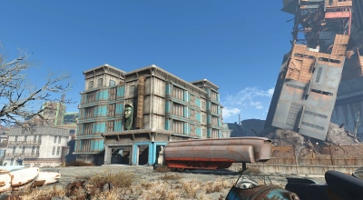 Fallout 4 — Здание «Масс Пайк» | Fallout 4 моды