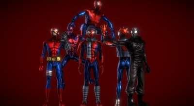 Garrys Mod — Spiderman — Ultimate Playermodel Bundle