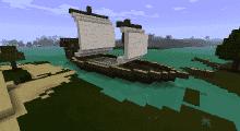Minecraft — Паровой корабль для 1.7.10/1.7.2/1.6.4/1.5.2 | Minecraft моды