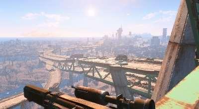 Fallout 4 — Убираем худ (No HUD and adaptive crossair)   Fallout 4 моды