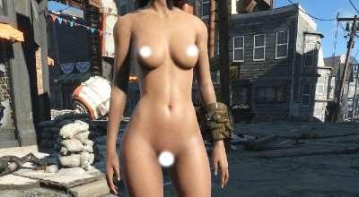 Fallout 4 — Реплейсер женских тел CBBE (18+) + BodySlide | Fallout 4 моды