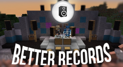 Minecraft — Better Records для 1.7.10, 1.7.2 / Музыкальная аппаратура | Minecraft моды