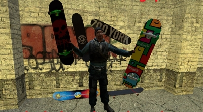 Garry's Mod 13 — Скейтборд   Garrys mod моды