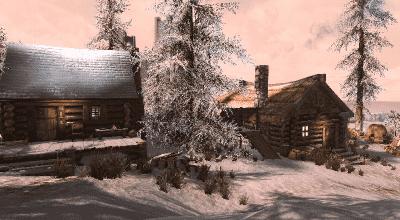Skyrim SE — Новый домик для игрока Ветреный хребет | Skyrim Special Edition моды