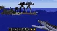 Minecraft 1.7.10 с установленным модом Flans и аддонами | Minecraft моды